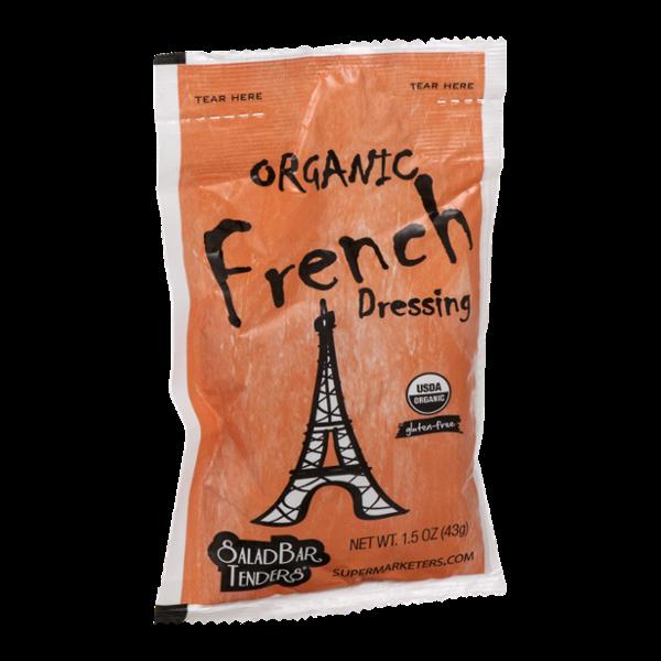 Salad Bar Tenders Dressing Organic French