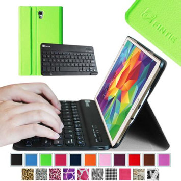 Fintie Wireless Bluetooth Keyboard Smart Shell Case Cover for Samsung Galaxy Tab S 8.4 Tablet, Green