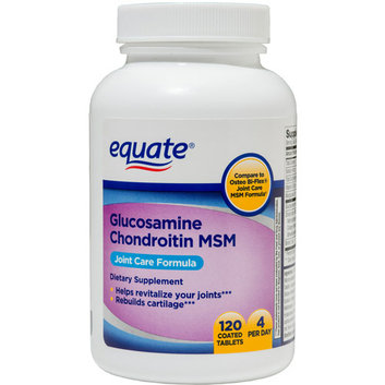 Equate Glucosamine Chondroitin MSM Tablets