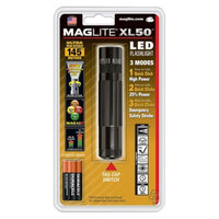 Maglite XL50 3AAA LED Flashlight Black
