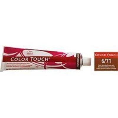 Wella Color Touch 6/71 (Dark Blonde/Brown Ash) 2oz