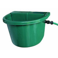 Fortiflex Automatic Waterer Bucket for Dogs/Cats and Small Animals, 20-Quart, Hunter Green