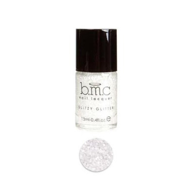 Bundle Monster BMC Multicolor Mix Shapes Finger Nail Art Glitter Polish Lacquer-Champagne Room