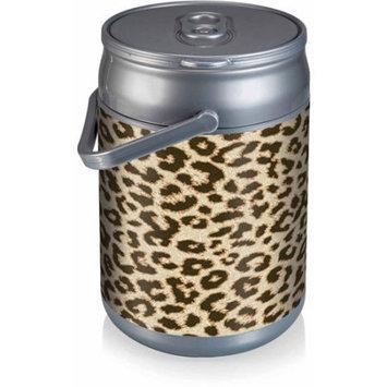 Picnic Time Can Cooler - Cheetah Print Can