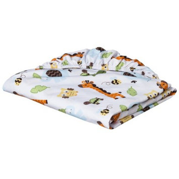 Fitted Crib Sheet - Jungle Stack by Circo
