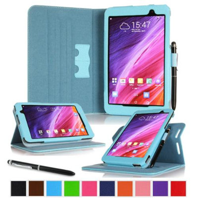 roocase ASUS MeMO Pad 7 ME176CX Case - Dual View Multi-Angle Stand 7-Inch 7