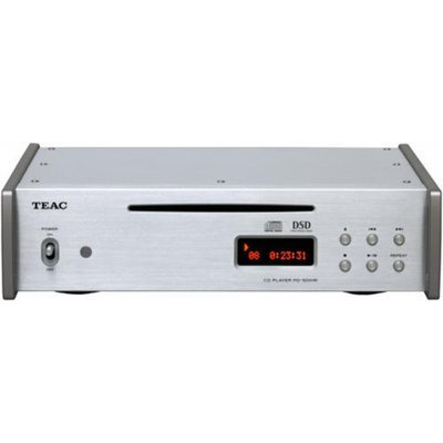 Teac PD-501HR Silver Native Playback DSD PCM CD Player