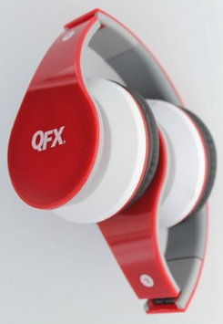 Qfx, Inc BT Stereo Hdphones w Mic Red