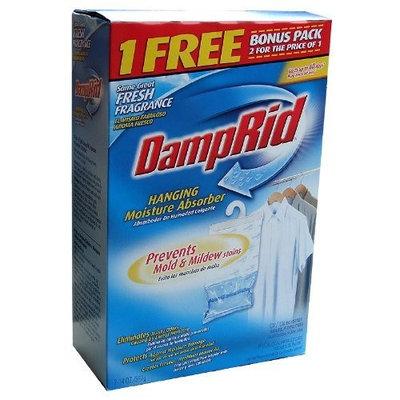 Damprid Damp Rid Hanging Moisture Absorber 14oz bonus pack