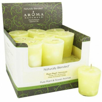 Aroma Naturals Votive Candles Case of 18