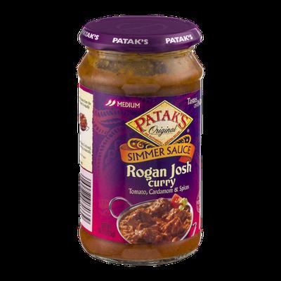Patak's Original Simmer Sauce Rogan Josh Curry