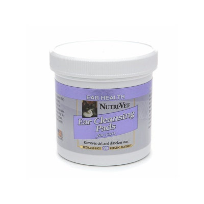 Nutri-Vet Ear Cleansing Pads for Cats