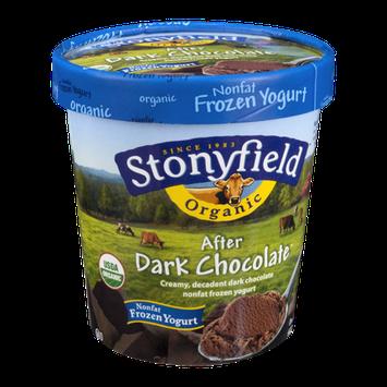 Stonyfield Organic After Dark Chocolate Nonfat Frozen Yogurt