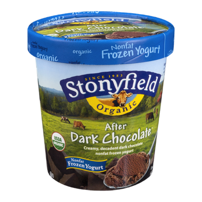 Stonyfield Organic After Dark Chocolate Nonfat Frozen Yogurt