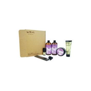 Chaz Dean U-HC-7889 Wen Hair Care Deluxe Kit - Lavender for Unisex 2 x 16oz - 6 Piece