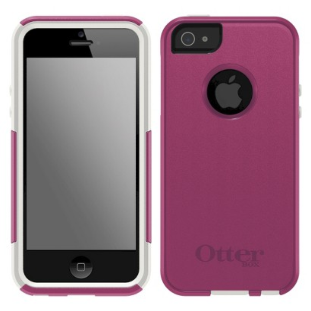Otterbox Commuter Cell Phone Case for iPhone 5 - Pink (42554TGW)
