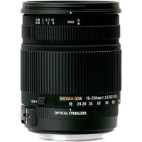 Sigma 18-250mm f3.5-6.3 DC MACRO OS HSM for Nikon Digital SLR Cameras plus Delux