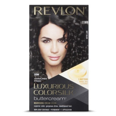 Revlon Colorsilk Revlon Luxurious Colorsilk Buttercream Haircolor - Soft Black