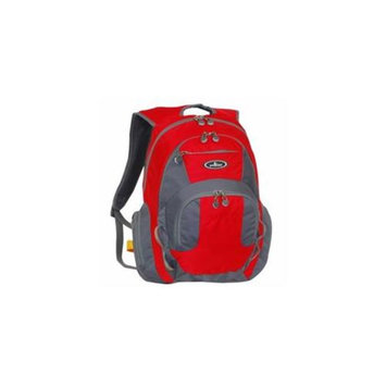 Everest DP1000-RD-GRY Deluxe Travelers Laptop Backpack - Red-Grey