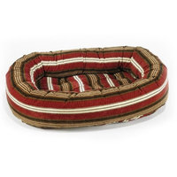 Bowser's Bowsers Diamond Series Corduroy Donut Dog Bed