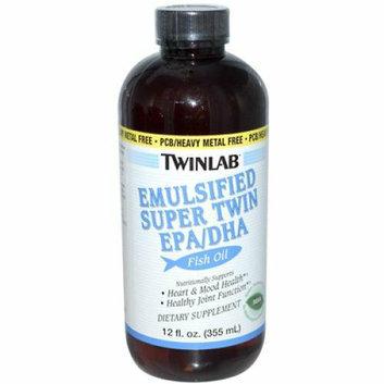 Twinlab Emulsified Super Twin EPA DHA Fish Oil Mint 12 fl oz