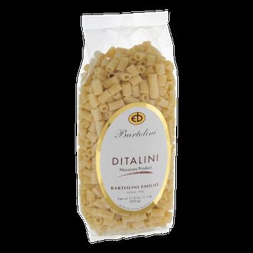 Bartolini Emilio Ditalini Pasta