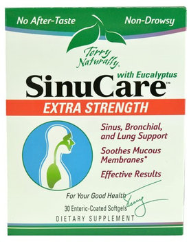 Europharma Terry Naturally EuroPharma - Terry Naturally SinuCare with Eucalyptus Extra Strength - 30 Enteric Coated Softgels