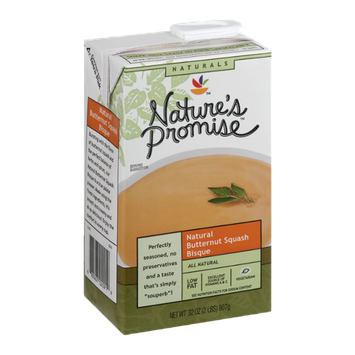 Nature's Promise Natural Butternut Squash Bisque