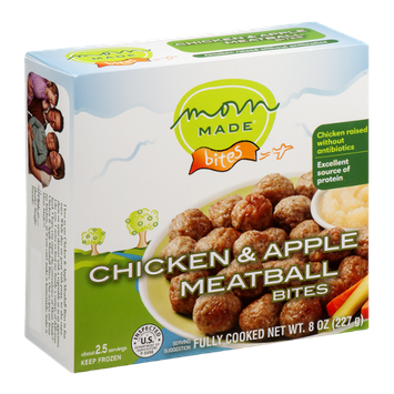 Mom Made Bites Chicken & Apple Meatball Bites