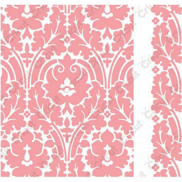 Provo Craft & Novelty Inc. Cuttlebug A2 Embossing Folder/Border Set-Anna Griffin Brocade