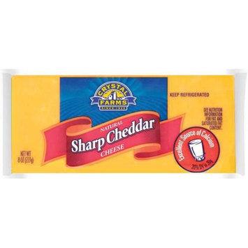 Crystal Farms Sharp Cheddar Cheese