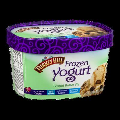 Turkey Hill Frozen Yogurt Peanut Butter Pie