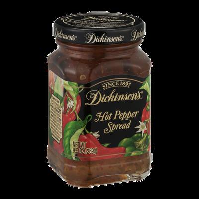 Dickinson's Hot Pepper Spread