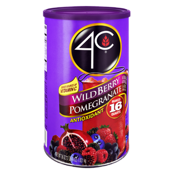 4C Wild Berry Pomegranate Antioxidant Drink Mix
