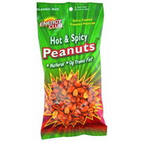 Energy Club Peanuts, Hot & Spicy, 5.5-Ounce Bags (Pack of 6)