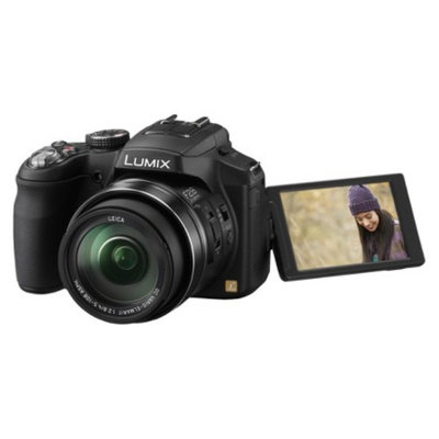 Panasonic LUMIX DMC-FZ200 12 Megapixel Digital Camera - Black