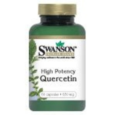 Swanson Premium High Potency Quercetin 650 mg 60 Caps
