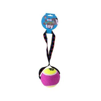 Bulk Buys OC123 Tennis Ball Rope Toy Case of 24