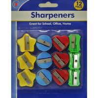 EPC 12 Pack 4 Colors 4 Style Pencil Sharpener