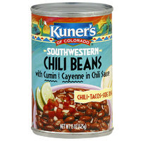Kuner's Chili Beans in Chili Sauce With Cumin & Cayenne