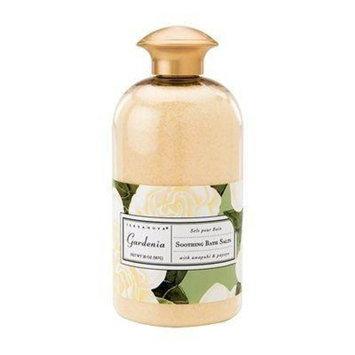 Terra Nova Terranova Gardenia Soothing Bath Salts 20oz
