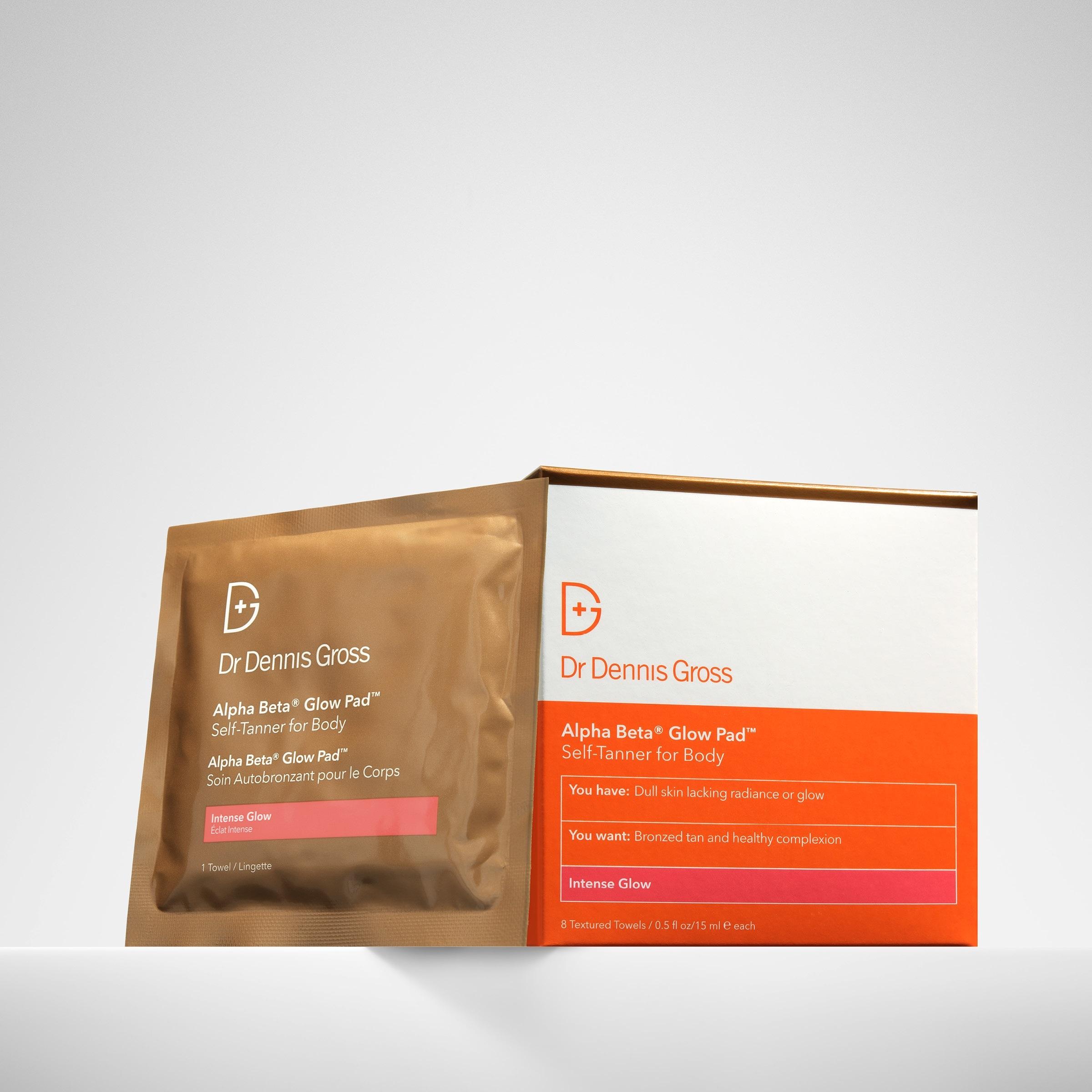 Dr. Dennis Gross Skincare Alpha Beta® Glow Pad for Body Intense Glow