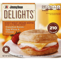 Jimmy Dean Delights Canadian Bacon, Egg White & Cheese English Muffin