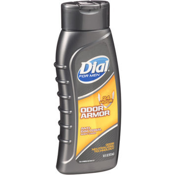 Dial for Men Antibacterial Body Wash, 24 Hour Odor Armor, 16 fl oz