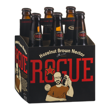Rogue Hazelnut Brown Nectar - 6 PK