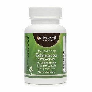 True Fit Vitamins Standardized Echinacea Extract 4%
