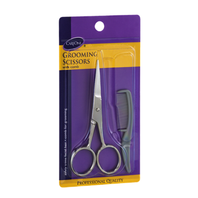 CareOne Grooming Scissors with Comb