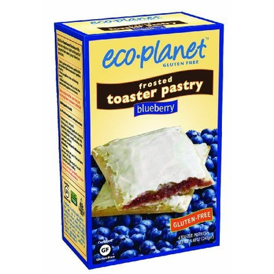 eco-planet Frosted Toaster Pastries, Blueberry, 7-Ounce Boxes (Pack of 6)