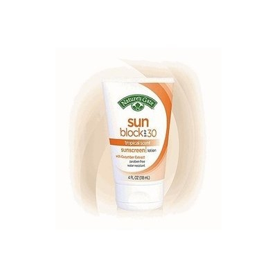 NATURE'S GATE, Sun Block Lotion SPF30 - 4 oz