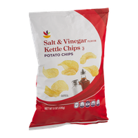 Ahold Salt & Vinegar Kettle Chips Potato Chips